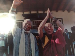 mandela and lama