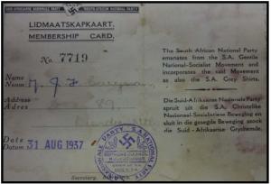 SA Nazi Card2
