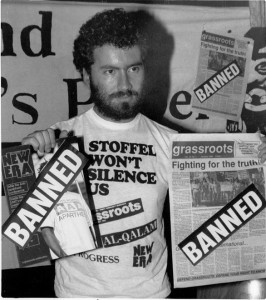 grassroots-staff-member-tony-karon-protesting-the-banning-of-grassroots-and-other-publications-266x300